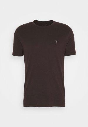 BRACE TONIC CREW - Basic T-shirt - oxblood red