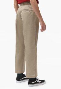 Dickies - 874 CROPPED PANTS - Bukser - khaki - 2