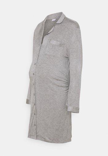 NIGHTGOWN  - Nattskjorte - grey melange