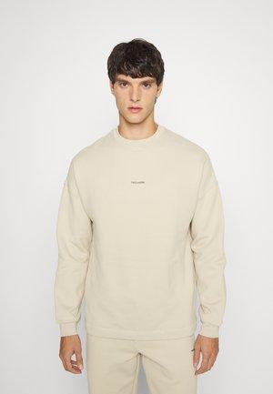 FLEA CREW - Sweatshirt - beige