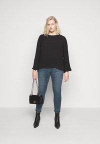 Vero Moda Curve - VMSEVEN  - Jeans Skinny Fit - dark blue denim - 1