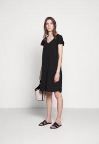 Bruuns Bazaar - LILLI FENIJA DRESS - Day dress - black - 1