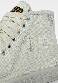 G-Star - ROVULC 50 YEARS DENIM MID SNEAKERS - Sneakers laag - ecru - 3