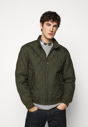FINE CITY - Light jacket - company olive