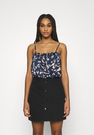 VMHAILEY  SINGLET  - Top - navy blazer/hailey