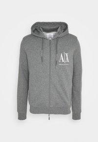 Armani Exchange - Zip-up sweatshirt - grey - 0