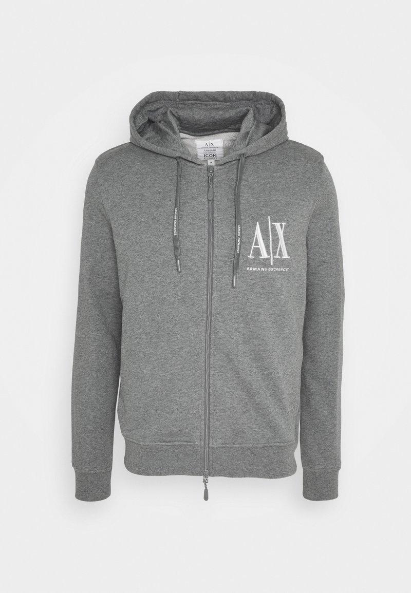 Armani Exchange - Zip-up sweatshirt - grey