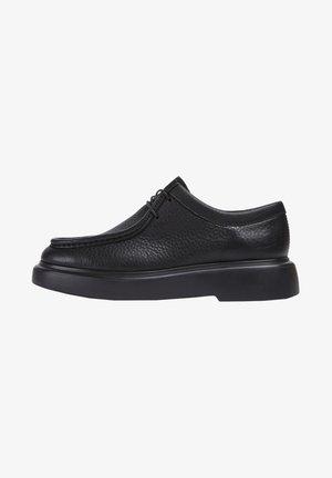 POLIGONO T - Boat shoes - schwarz