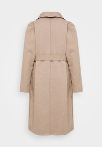 Vila - VIJUICE ZEBRA COAT - Classic coat - natural melange - 8