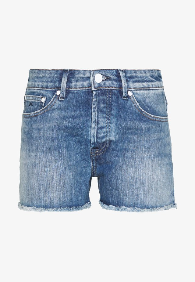 MONROE S CALI - Denim shorts - blue