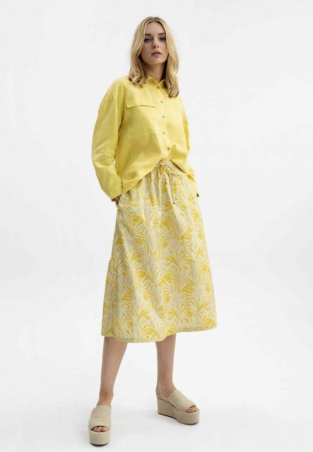 WEITER - A-line skirt - savanna