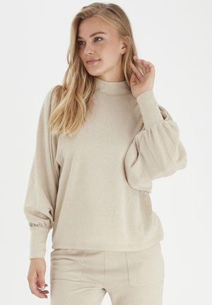 BXSELMA - Long sleeved top - cement melange