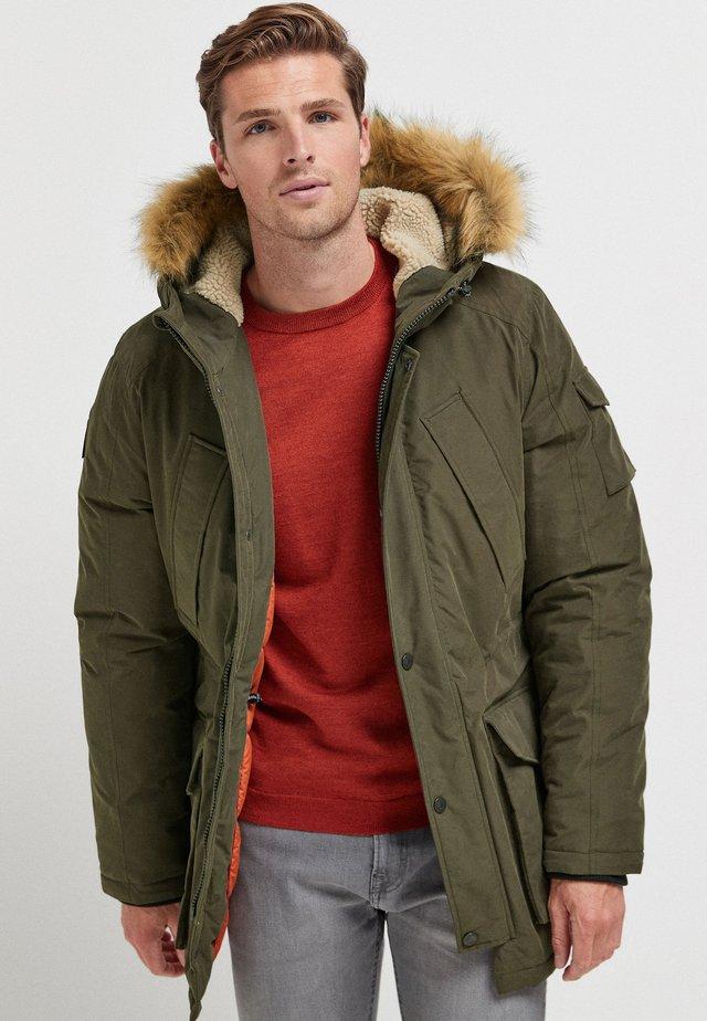 Cappotto invernale - green