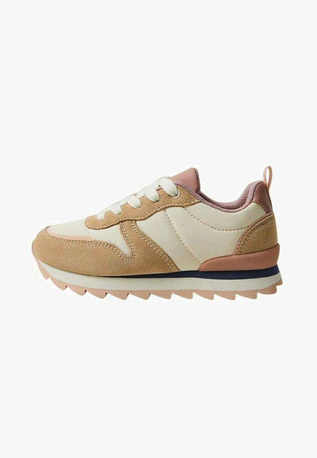 MAR - Sneakers laag - beżowy