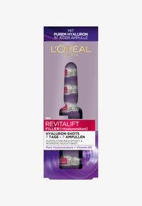 L'Oréal Paris Skin - REVITALIFT FILLER 7 DAY HYALUROCURE REPLUMPING AMPOULES - Serum - - - 0