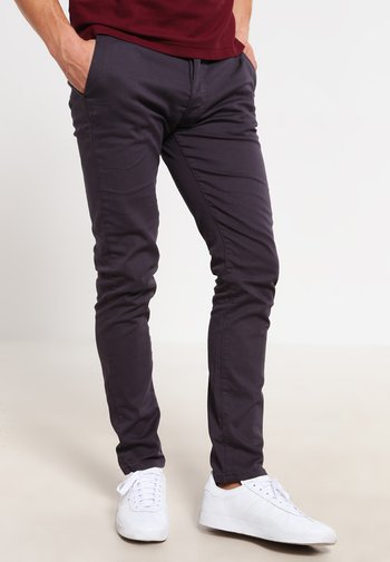 Pantalones chinos - dark grey
