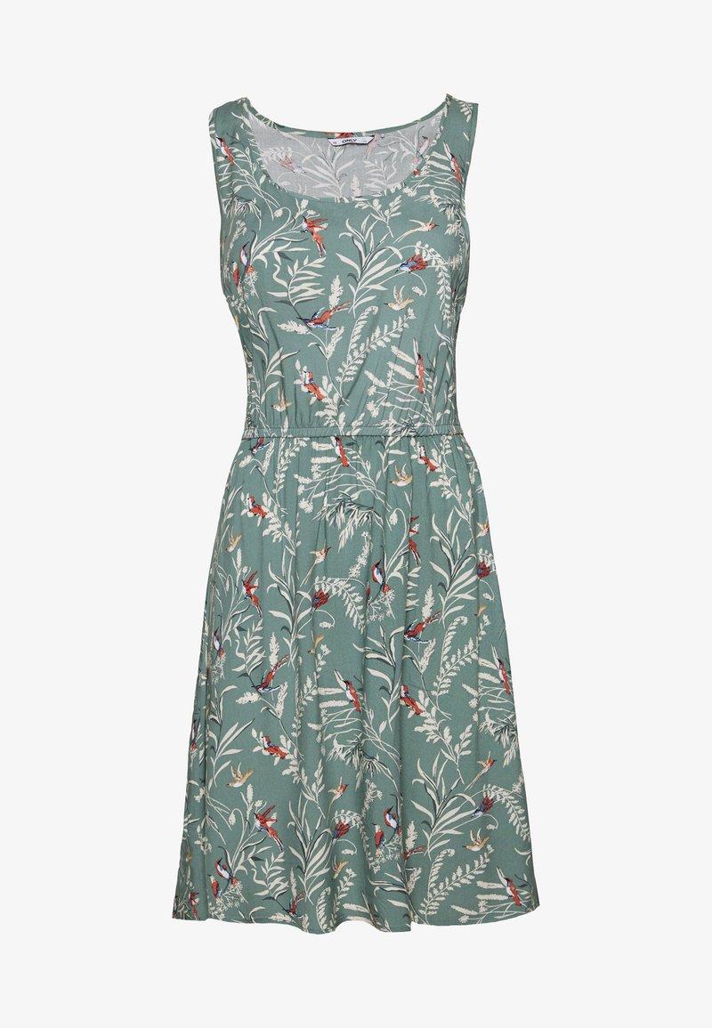 ONLY - ONLNOVA LIFE SARA DRESS - Vapaa-ajan mekko - chinois green