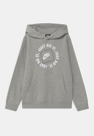 HOODIE - Felpa con cappuccio - dark grey heather