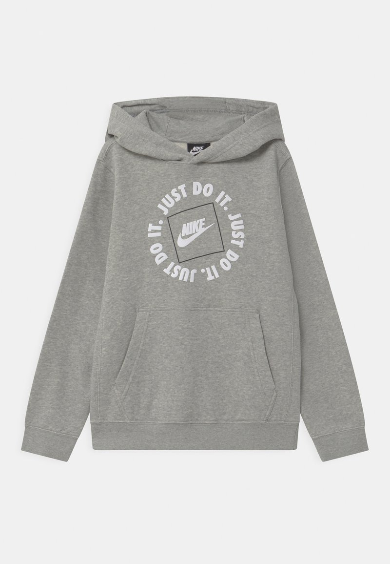 Nike Sportswear - HOODIE - Hoodie - dark grey heather