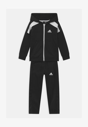 TECH SET UNISEX - Tracksuit - black/white