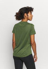 adidas Performance - OWN THE RUN TEE - Print T-shirt - khaki - 2