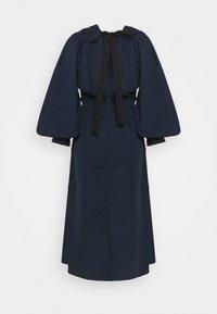 Vero Moda Tall - VMAPRIL CALF DRESS - Day dress - navy blazer - 1