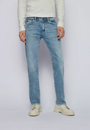 Slim fit jeans - turquoise
