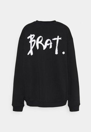BRAT - Sweatshirt - black