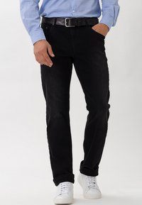 BRAX - Straight leg jeans - black - 0