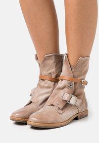 A.S.98 - Cowboy/biker ankle boot - dust - 0