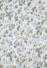 Abercrombie & Fitch - SLIP MIDI DRESS - Day dress - white - 7