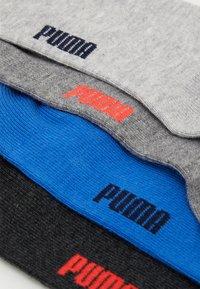 Puma - EASY RIDER 4 PACK - Ponožky - grey/black/blue - 1