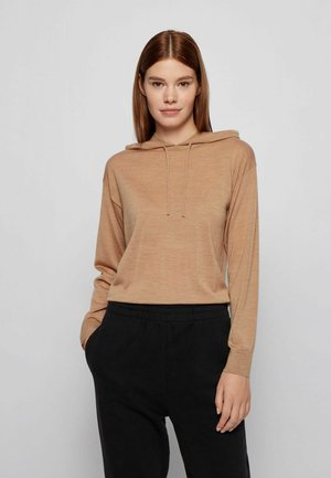 FIONELA - Kapuzenpullover - light brown