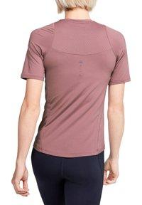 Under Armour - RUSH - Print T-shirt - bordeaux (502) - 2