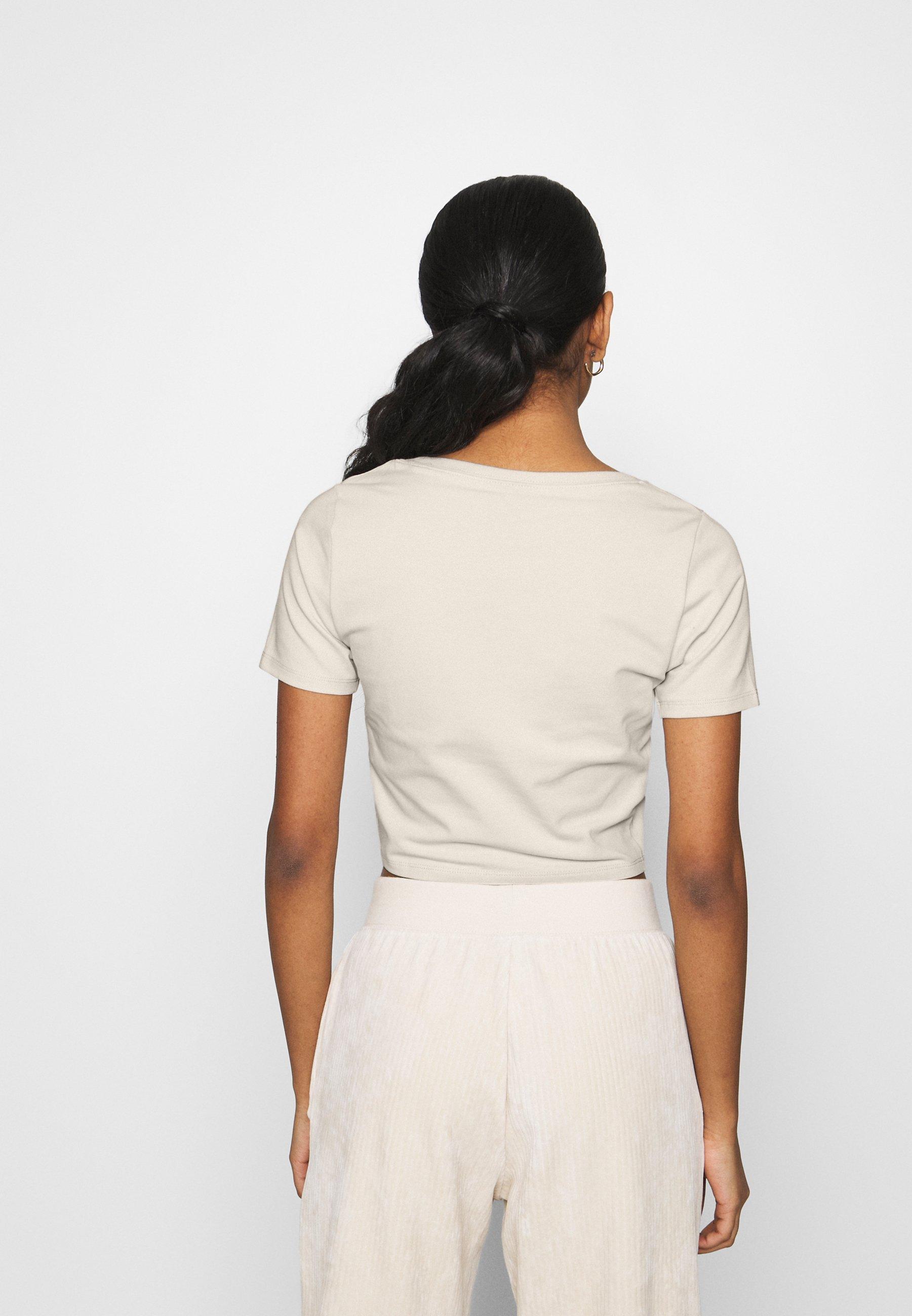 Donna CROP - T-shirt con stampa
