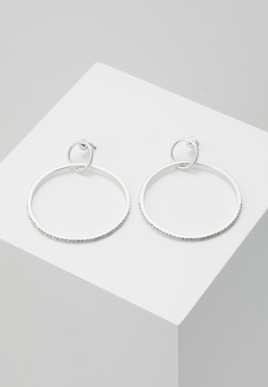 EARRINGS FIRE - Ohrringe - silver-coloured