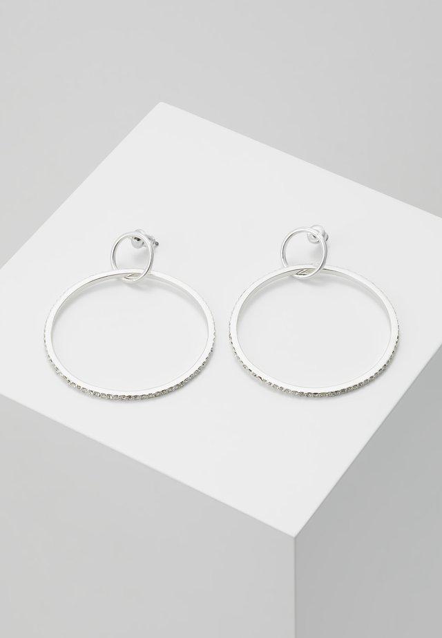 EARRINGS FIRE - Korvakorut - silver-coloured