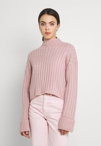 Nly by Nelly - CROPPED TURTLE NECK - Jumper - lilac - 0