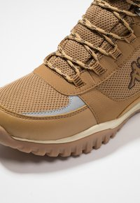 Kappa - SCORVA TEX - Hiking shoes - beige/black - 5