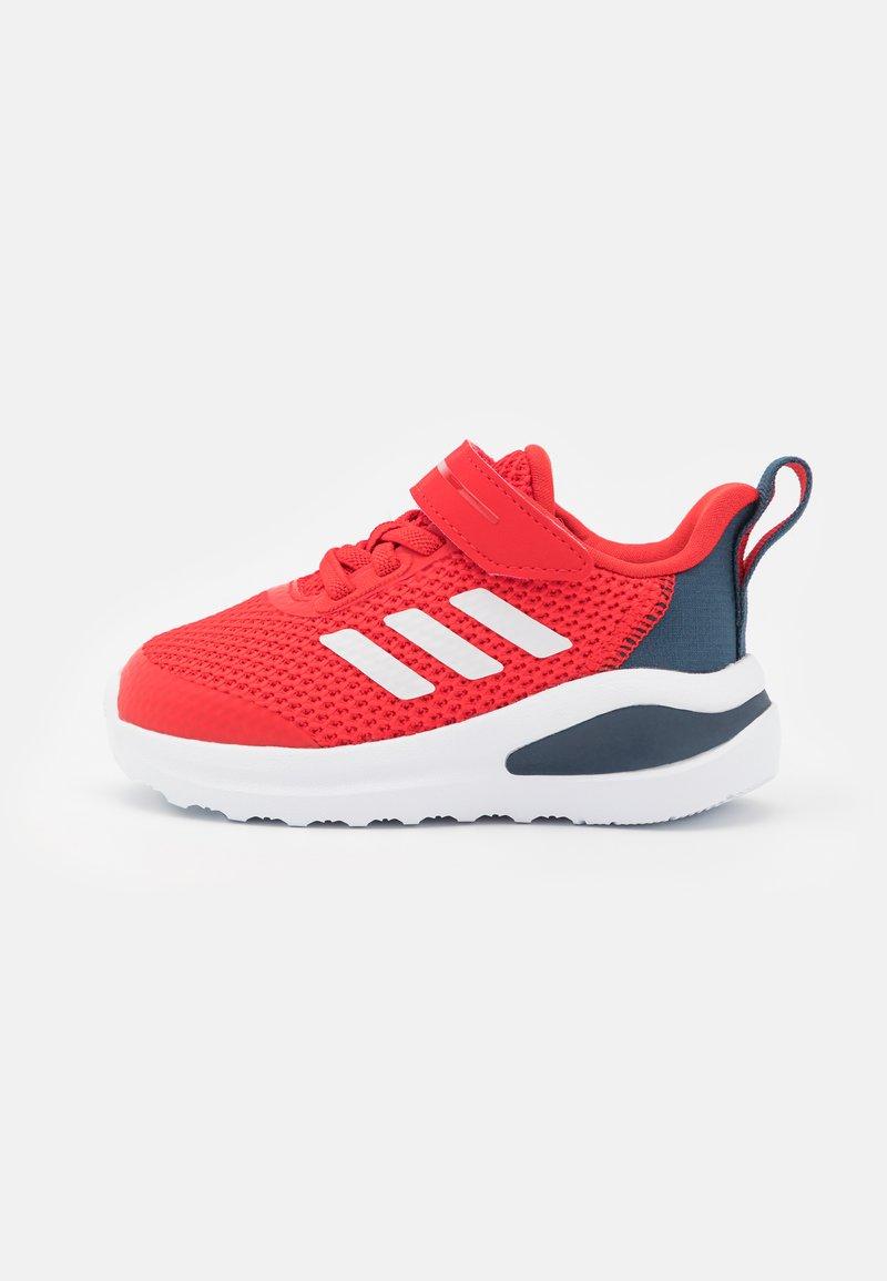 adidas Performance - FORTARUN UNISEX - Neutral running shoes - vivid red/footwear white/crew navy