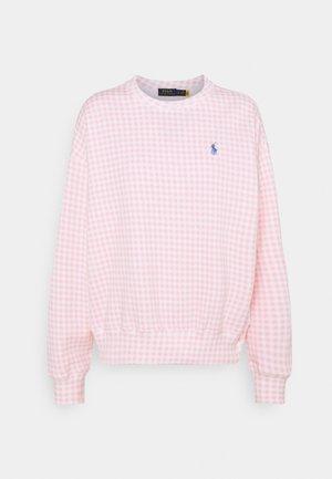 Trui - garden pink/white