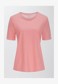 mey - LANGES SCHLAFSHIRT SERIE ZZZLEEPWEAR - Pyjama top - powder pink - 4