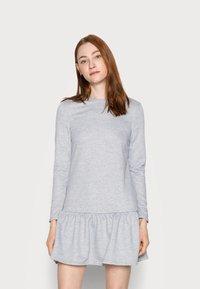 New Look Tall - DROP RESS - Day dress - grey niu - 0