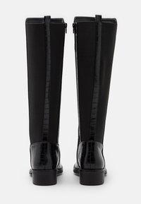 New Look - PLAIN STRETCH BACK  - Vysoká obuv - black - 3