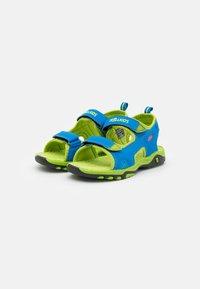 TrollKids - KIDS ORRESTRAND UNISEX - Chodecké sandály - medium blue/lime - 1