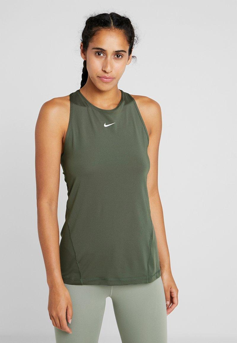 Nike Performance - TANK ALL OVER  - Sports shirt - juniper fog/white