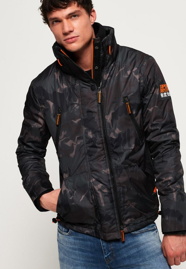 POLAR SD-WIND ATTACKER - Light jacket - brown