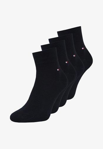 MEN QUARTER 4 PACK - Socks - dark navy