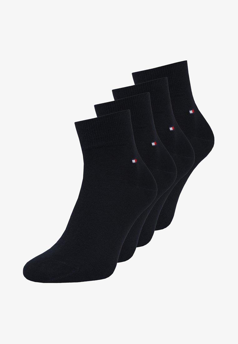 Tommy Hilfiger - MEN QUARTER 4 PACK - Socken - dark navy
