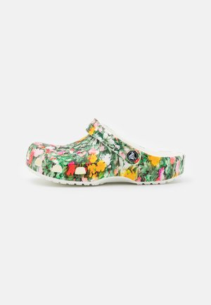 CLASSIC PRINTED FLORAL - Pantofle - white/multicolor